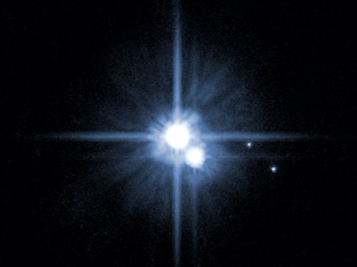 New moons at Pluto