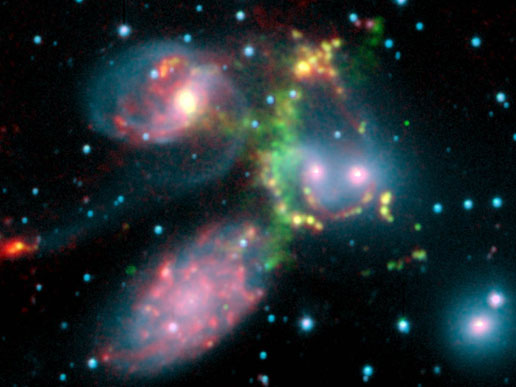Stephan's Quintet galaxy cluster