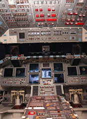 Multifunction Electronic Display Subsystem, also known as the glass cockpit