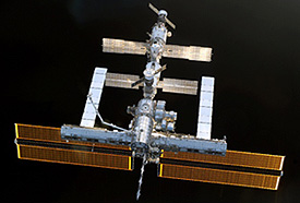 S114-E-7284 -- International Space Station
