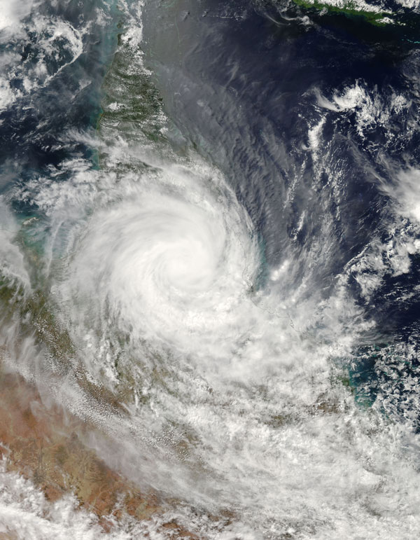 cyclone larry Severe tropical cyclone larry was a tropical cyclone that made landfall in australia in 2006 it started as a low pressure system over the eastern.