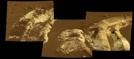 Bright Soil Near 'McCool' (False Color)