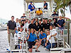 JSC2006-E-12399 -- Crew members and the support team for the ninth NEEMO mission