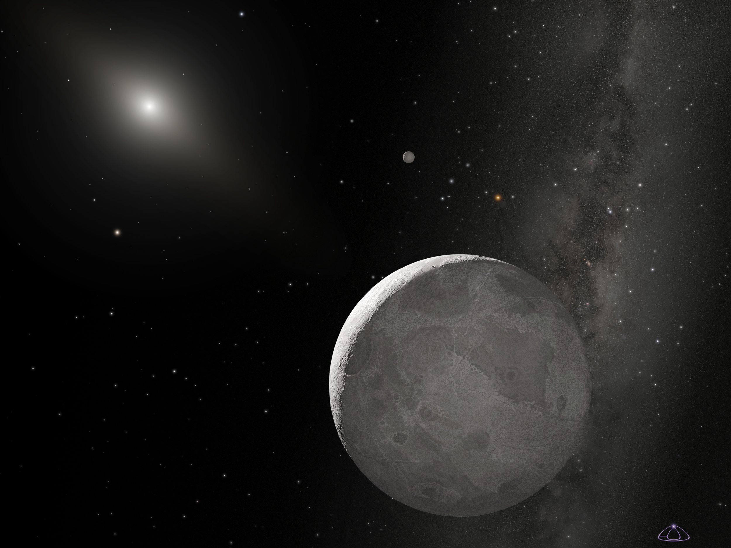 NASA - Hubble Finds 'Tenth Planet' Slightly Larger Than Pluto