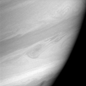 Saturn's 'storm alley'