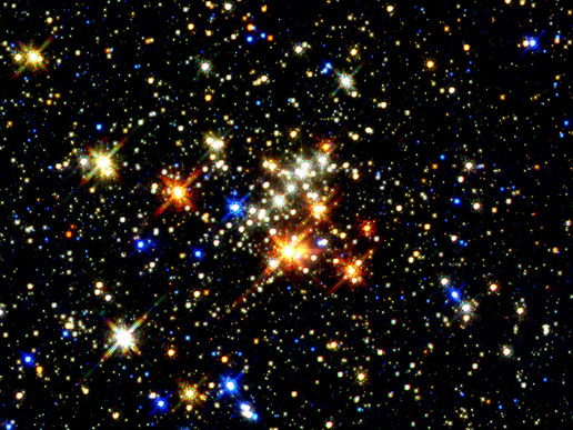 largest young clusters of stars