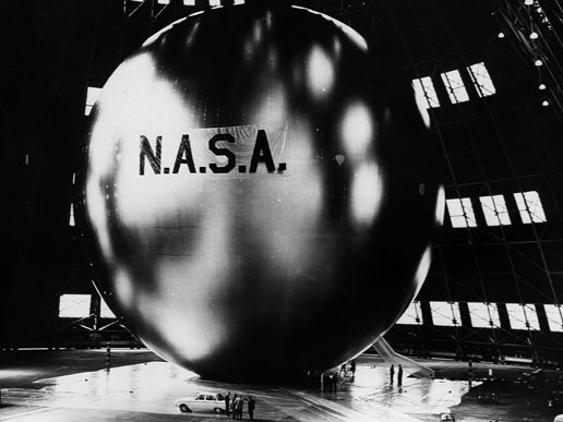Echo, NASA's first communications satellite