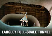 An early supersonic transport design tested in the Langley Full-Scale Tunnel
