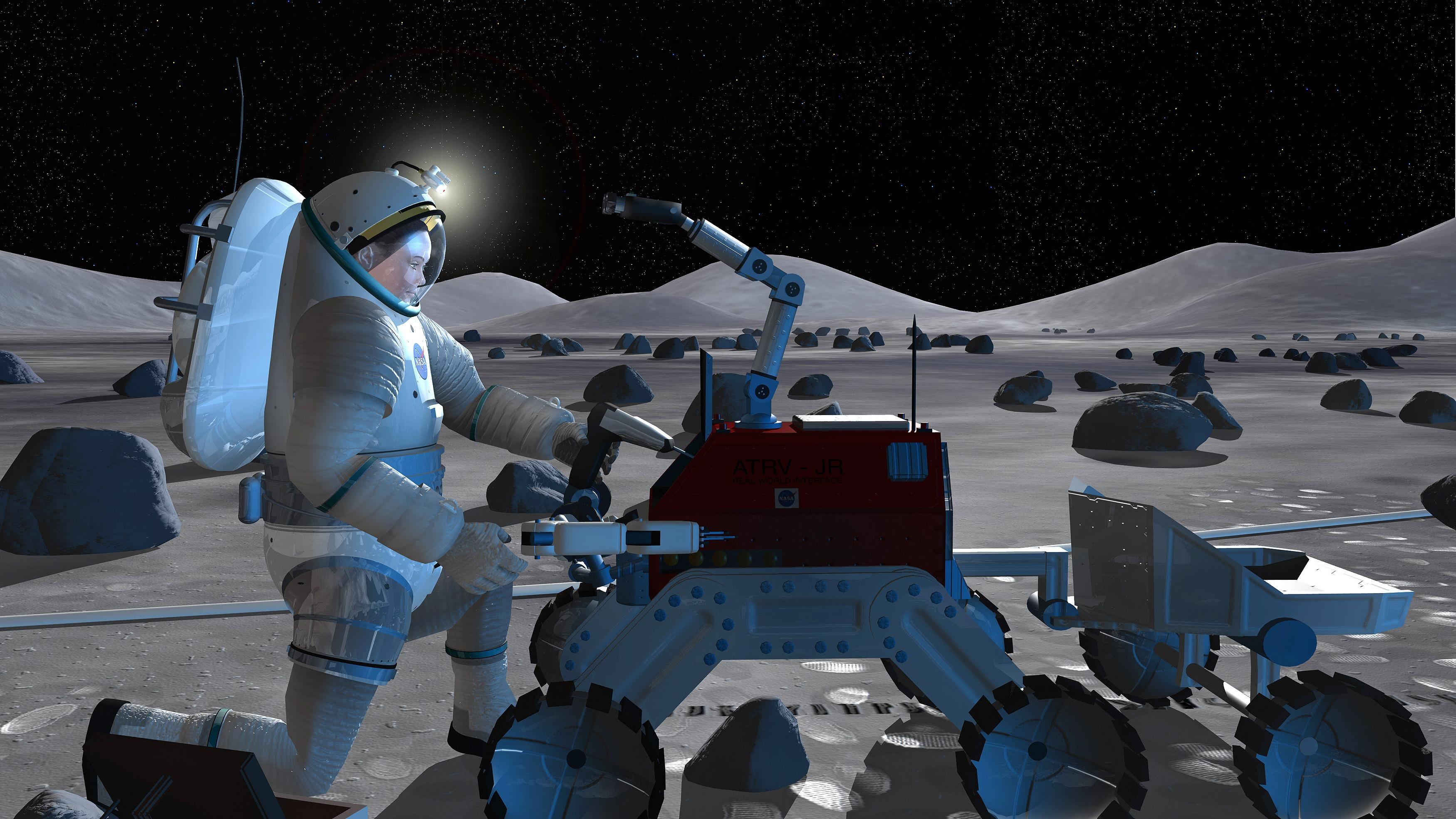 NASA - Repairing a Rover