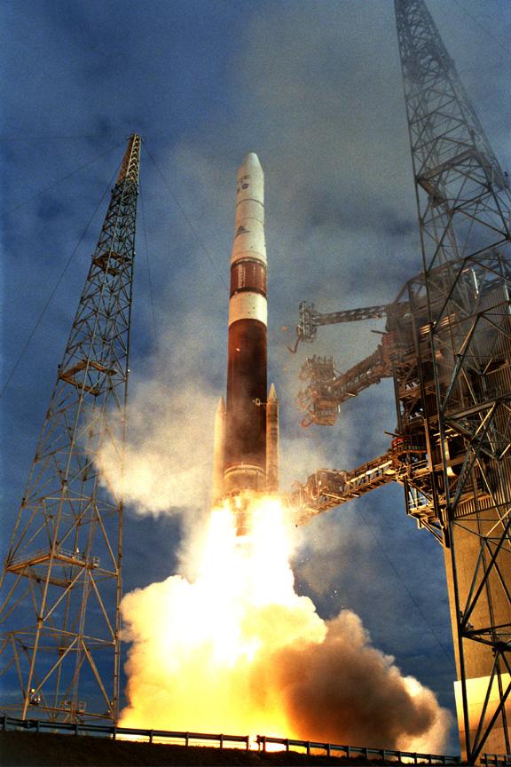NASA - GOES-N Lifts Off Aboard a Boeing Delta IV Rocket