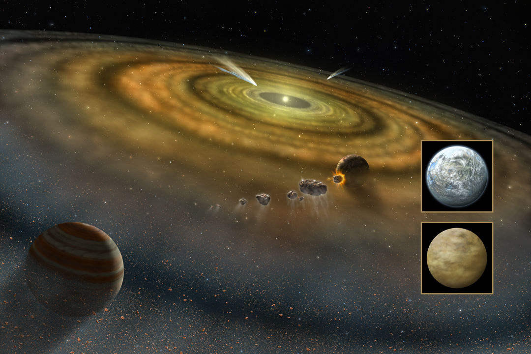 NASA - Scientists Find Infant Solar System Awash in Carbon