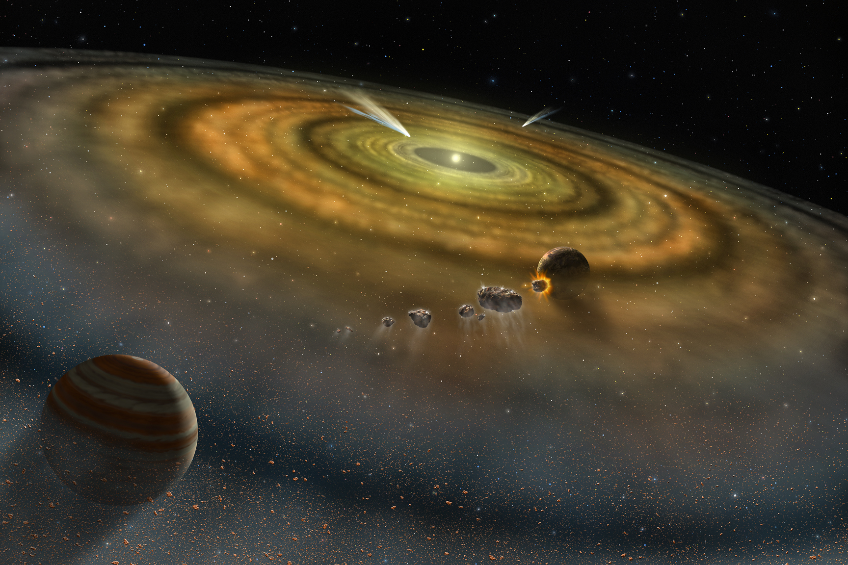 other solar systems in the universe - photo #31