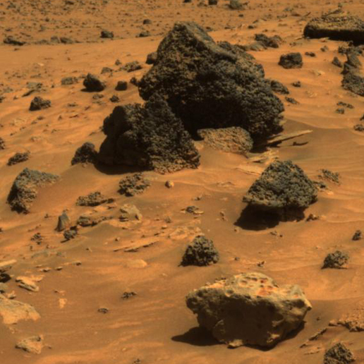Possible Meteorite in 'Columbia Hills' on Mars