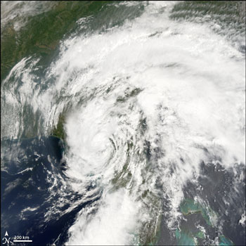 MODIS Image of Tropical Storm Alberto