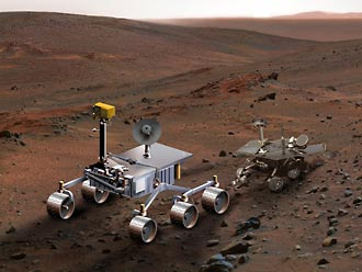 NASA Mars Science Laboratory, artist concept