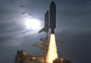 STS-64 Launch of Space Shuttle Discovery