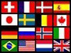 International Space Station Partners flag collage