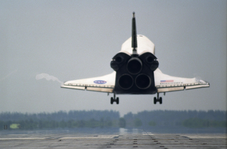 space shuttle orbiter landing speed - photo #27