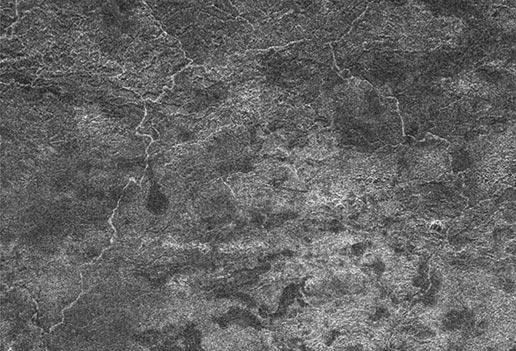 network of river channels is located atop Xanadu on Titan
