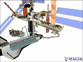 NASA - STS-117/13A Assembly Flight - Installation Video