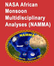 NASA African Monsoon Multidisciplinary Analyses 2006 (NAMMA) logo