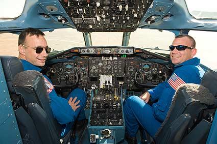 STS-119 Commander Lee Archambault and Pilot Tony Antonelli