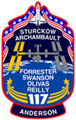STS-117 insignia