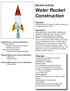 how to construct a bottle rocket