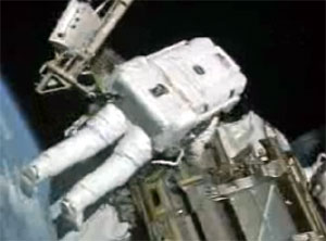 Expedition 13 spacewalk