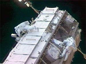 Caminata Espacial de la Expedición 13. NASA