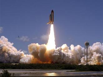 Liftoff of Space Shuttle Discovery on the STS-121 mission
