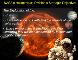 NASA Heliophysics objectives