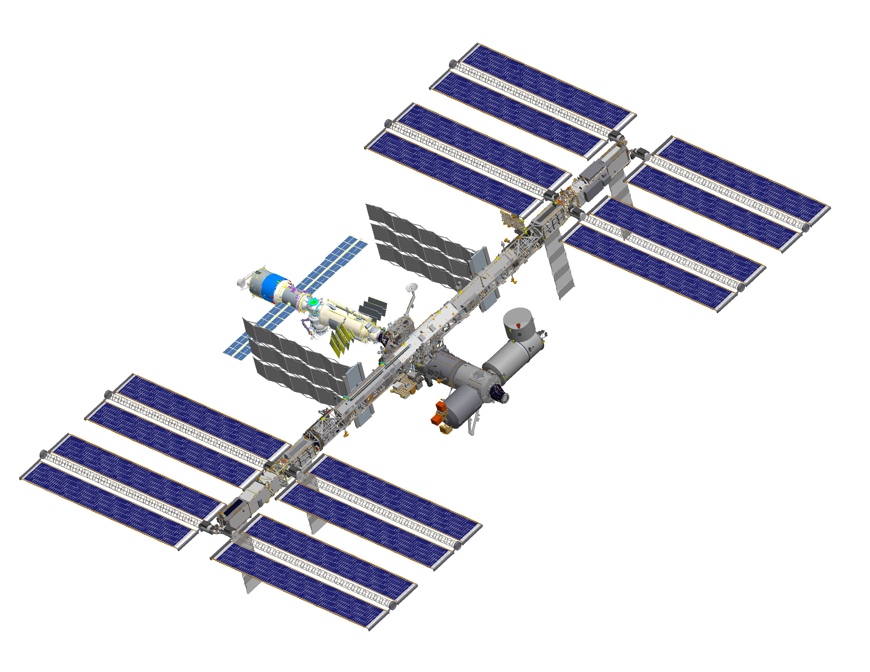 international space station diagram - photo #18