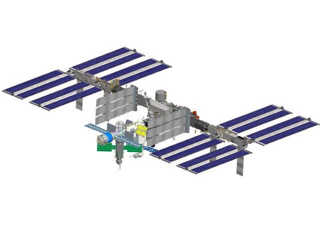 international space station assembly sequence - photo #10