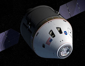 JSC2006-E-21813 : Artist's rendering of concept of  CEV and service module