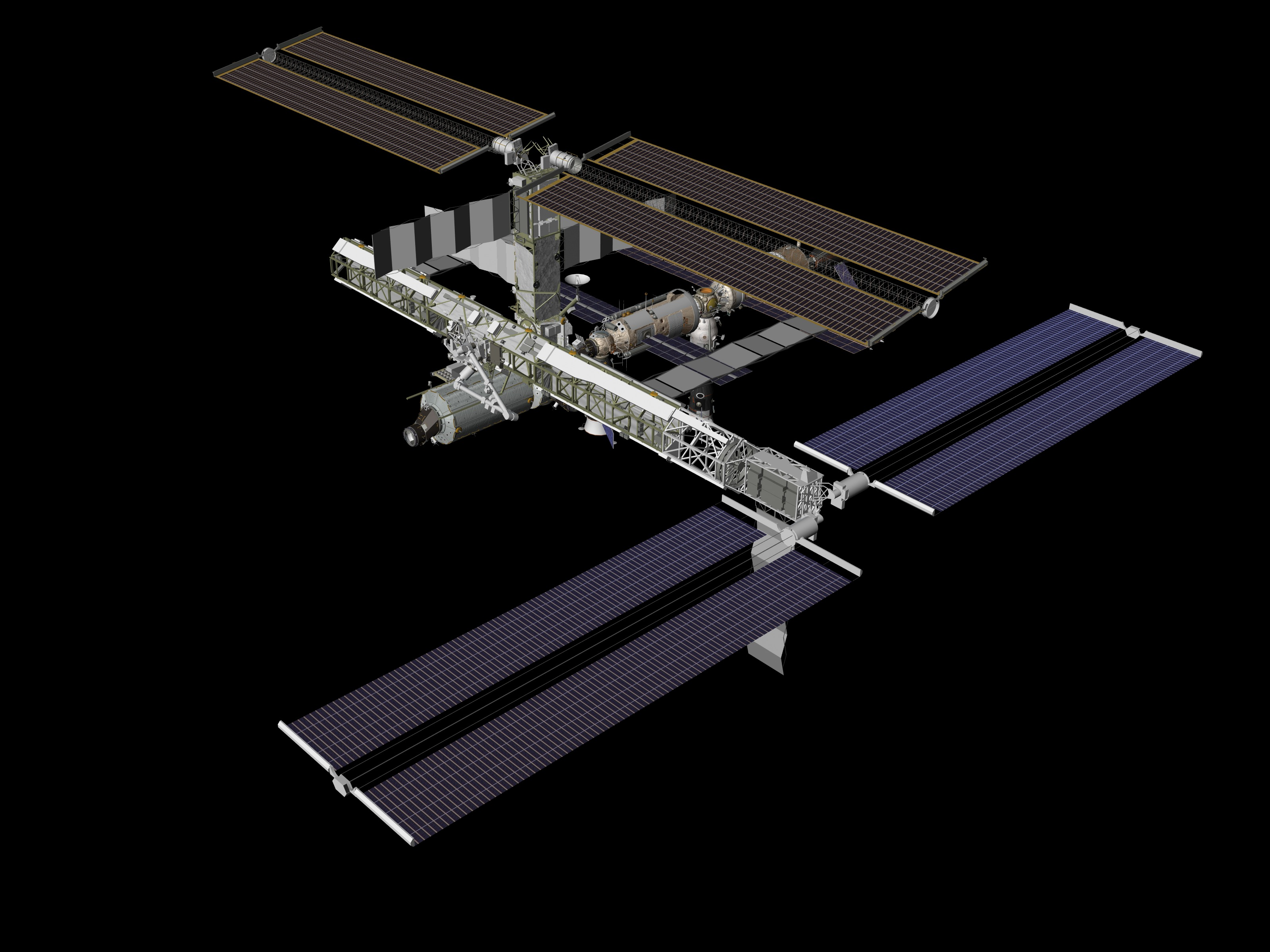 international space station assembly sequence - photo #2