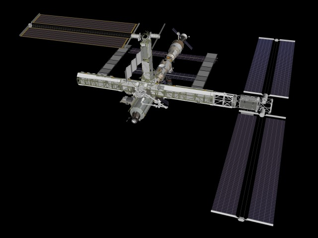international space station assembly sequence - photo #12