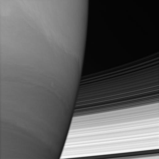 Saturn Hides the Rings