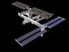 Artist's computer-generated rendering of the International Space Station after flight STS-115