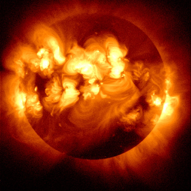 sun system solar flare - photo #1