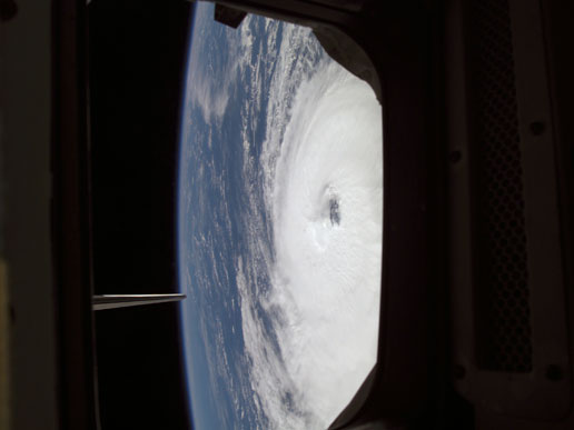Hurricane Gordon as seen from Space Shuttle Atlantis