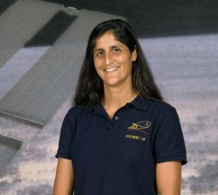 Astronaut Sunita Williams poses for a picture
