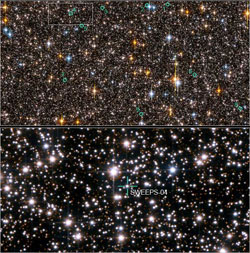 Hubble Exoplanet Search Field in Sagittarius