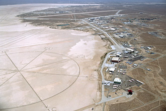 NASA's Dryden Flight Research Center is located at Edwards Air Force Base, Calif.