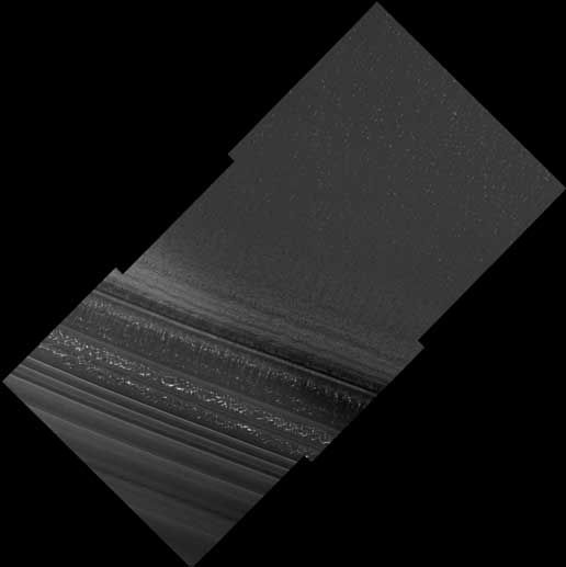 one of first images from high-resolution camera on Mars Reconnaissance Orbiter