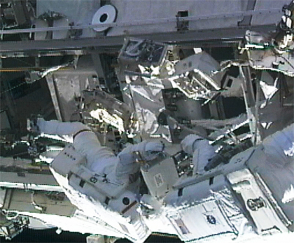 Expedition 24 spacewalkers