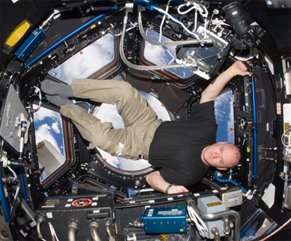 ISS025-E-007363 -- Expedition 25 Flight Engineer Scott Kelly