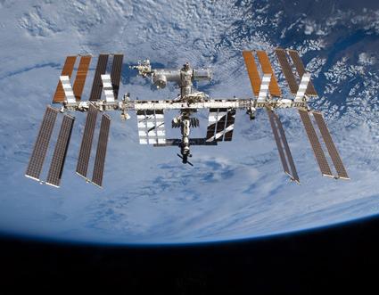 la Estación Espacial Internacional. Foto propiedad de la Nasa