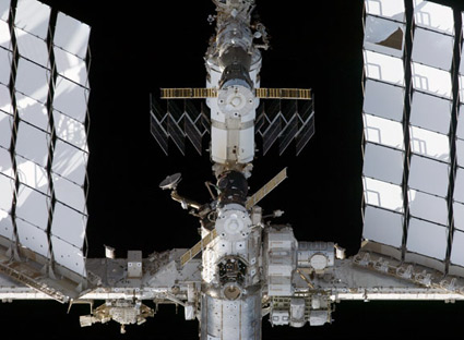 S127-E-006382 -- The International Space Station