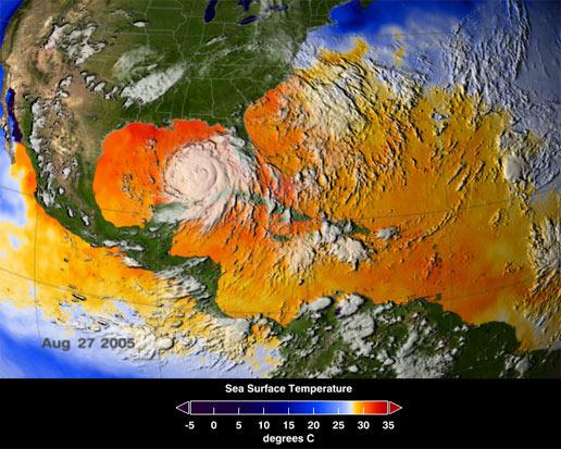 NASA - NASA's Live Tropical Seas Surface Temperature ...